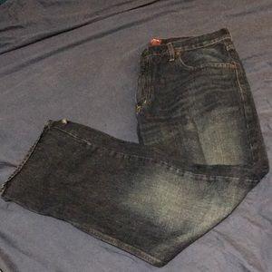 Arizona Men's Bootcut Jeans W36/L30